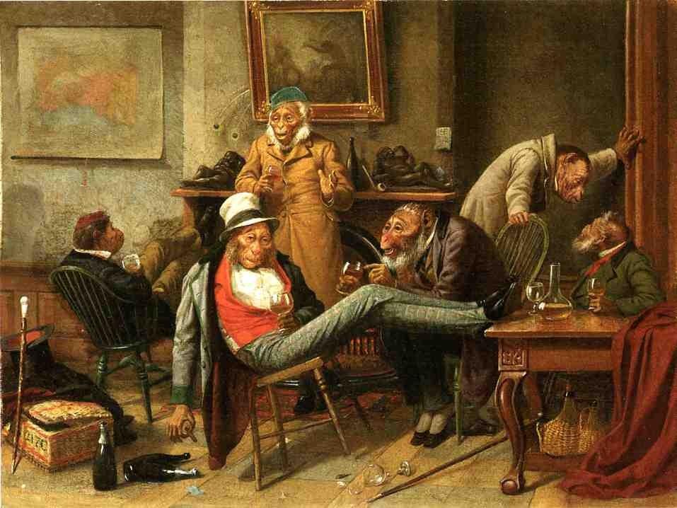 Pre Adamite 1874
